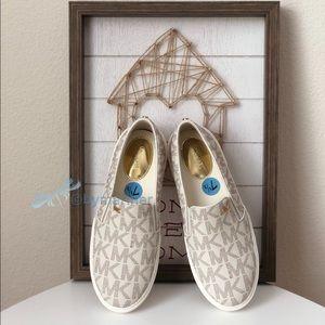 Michael Kors BOERUM Vanilla Sneakers New with box